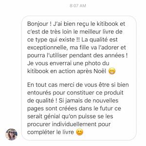 Kitibook Avis clients 1